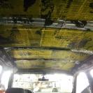 шумоизоляция крыши автомобиля-первый слой вибропласт