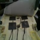 установка вибромоторов для массажа сидений
