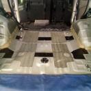 места сверлений фосфатированны и закрашены