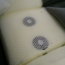 вентиляции сидений-укладываем специальную сетку