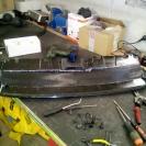 установка защитной сетки радиатора дискавери
