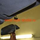 Камера видеорегистратора  INTRO SDR-G40 совершенно не мешает обзору
