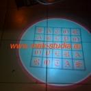 Лазерная проекция логотипа автомобиля - надпись САТОР