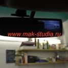 Зеркало со встроенным видеорегистратором - можно включить переднюю камеру