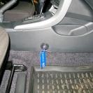 Блокиратор КПП Mul-T-Lock (Fortus) в интерьере автомобиля