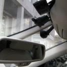 Камера охватывает максимальное пространство перед автомобилем