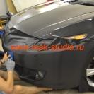 Оклейка автомобиля плёнкой карбон