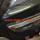 Оклейка бампера автомобиля антигравийной плёнкой
