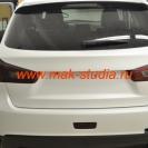 Оклейка автомобиля плёнкой - задние фонари в плёнку