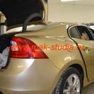 Оклейка автомобиля плёнкой - разбор салона
