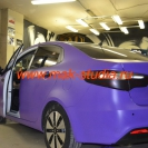 Оклейка автомобиля плёнкой - необычная раскраска