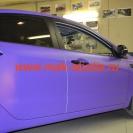 Оклейка автомобиля плёнкой - приятный, необычный цвет