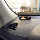 Парктроник ParkMaster 4-DJ-19 (19-4-A) на приборной панели автомобиля