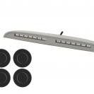 Парктроник ParkMaster 4-DJ-33 с чёрными датчиками
