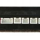 Разъёмы блока управления парктроника ParkMaster 4-XJ-50