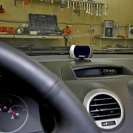 Парктроник ParkMaster 8-DJ-27 (8-FJ-27) в интерьере автомобиля