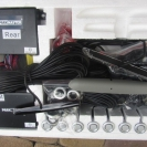 Парктроник Parkmaster 8-DJ-32/33 (32/33-8-A) с серебристыми датчиками