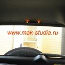 Установка парктроника - расположение заднего индикатора