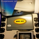 Комплект парктроника Sho-Me Y-2612 N08 с чёрными датчиками