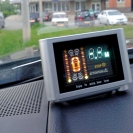 Парктроник Sho-Me Y-2612 N08 в интерьере автомобиля