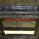 Шумоизоляция потолка гелендваген