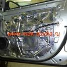 Шумоизоляция дверей автомобиля - третий слой вибропласт - избавим от дребезга среднюю часть двери