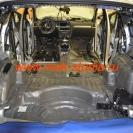 Шумоизоляция автомобиля - второй слой сплэн, клеим также со 100% перекрытием
