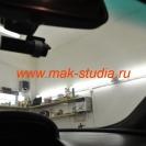видеорегистратора BLACKVUE DR500GW - отлично вписался в общий стиль салона