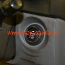 Кнопка старт-стоп - зелёный огонёк, красная надпись (режим зажигание)