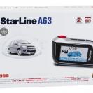 Упаковка автосигнализации StarLine A63