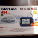 Упаковка сигнализации StarLine А94 2CAN GSM 2SLAVE + S-20.3 + BP-03