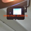 Видеорегистратор Visiondrive: установка на лобовое стекло.