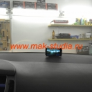 Скрытая установка видеорегистратора в автомобиль