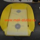 Вентиляция передних сидений - установка специальной сетки распределяющей воздушные потоки