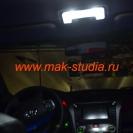 Замена ламп освещения салона Toyota