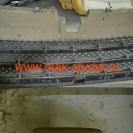Защитная сетка радиатора - начало монтажа