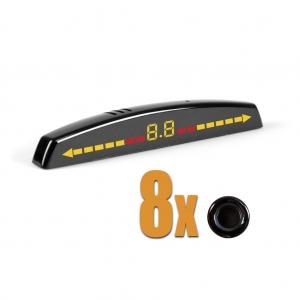 Система контроля слепых зон+парктроник для переднего бампера BS-6251
