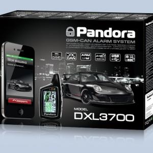 Автосигнализация Pandora DXL 3700 GSM с автозапуском