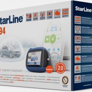 Сигнализация StarLine B94 2CAN GSM-GPS 2SLAVE T2.0