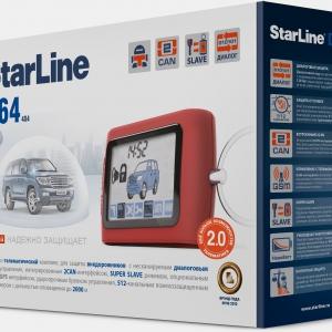 Сигнализация StarLine D64 2CAN 2SLAVE Т2.0
