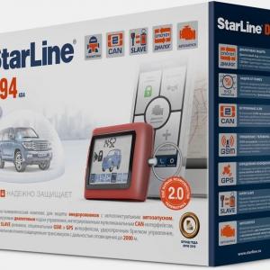 Сигнализация StarLine D94 2CAN GSM 2SLAVE Т2.0