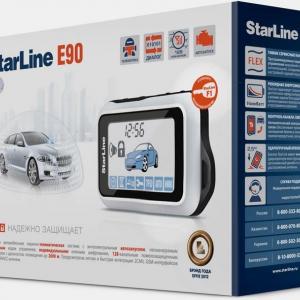 Сигнализация StarLine E90 + F1 + S-20.3