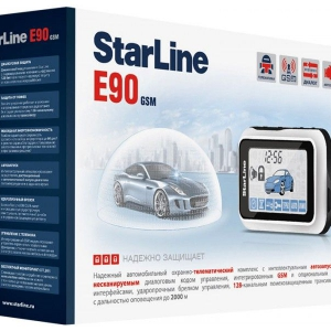Сигнализация StarLine E90 GSM + S-20.3 + BP-03